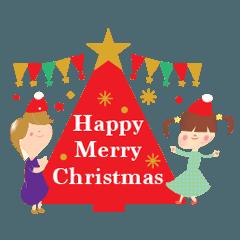 小人たちのクリスマス&お正月