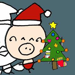 ぶ~吉 冬の生活!クリスマスと新年の挨拶