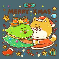 Merry Shiba & Many Trees