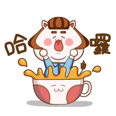 Cereal meow and cup