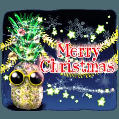 パイナップルクリスマスツリー