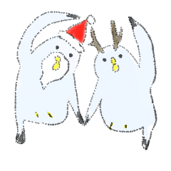 クリスマス、北欧かぶれのカモメ。