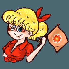 Charming Girl Kathy スタンプ (日本語版)