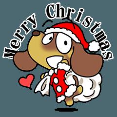 クリスマスダックスフンド