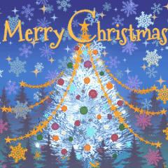 クリスマスカード 16カ国語